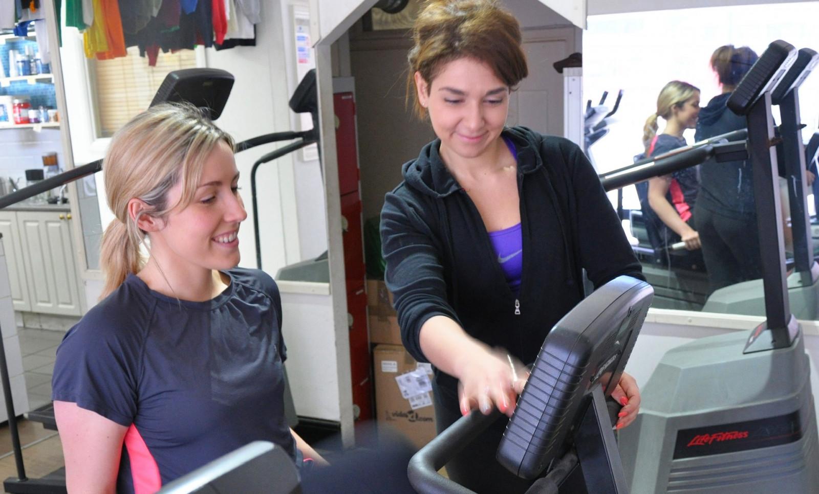 Ellicott City personal trainer gym