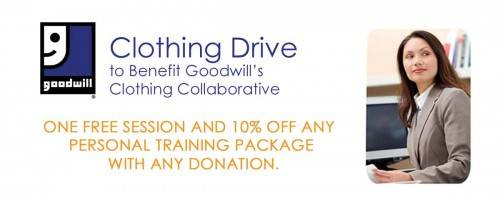 Clothing Drive to Benefit Goodwill's Clothing Collaborative
