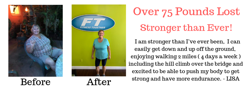 Lisa Austin lost over 75 pounds and is stronger than ever!