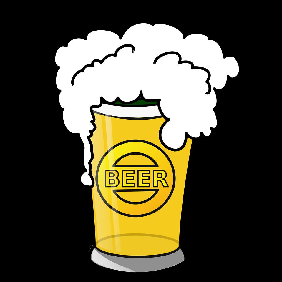 beer mug with beer in it