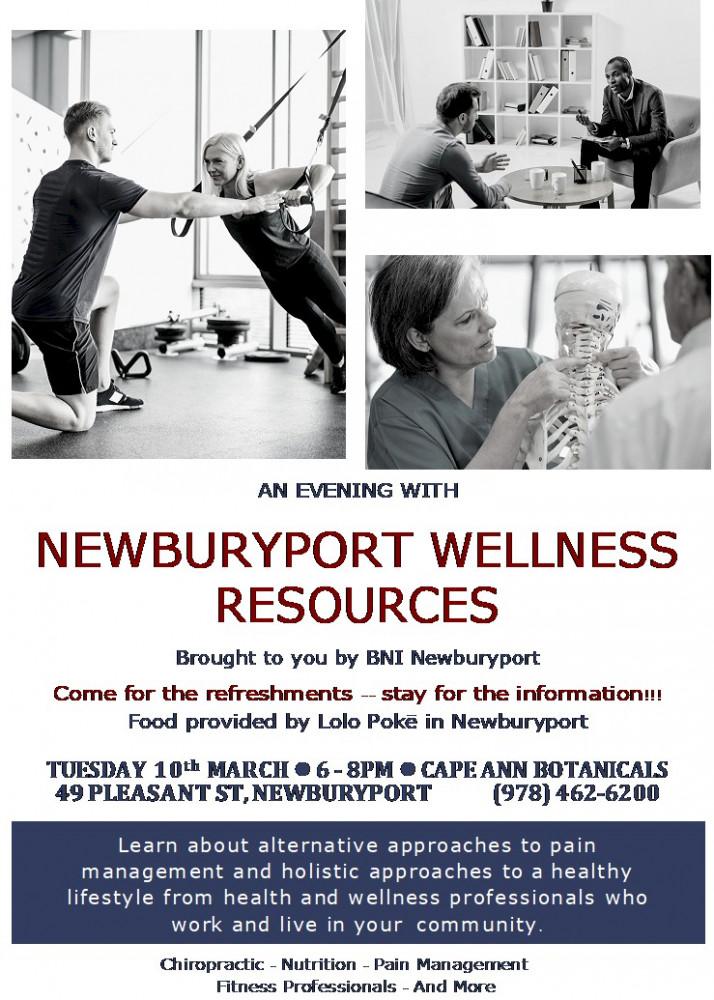 Wellness Resources Event